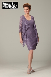 URSULA Lace Two-Piece Dress, Orchid - Product Mini Image