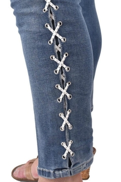True Blue  Lace-Up Ankle Pant - Alternate List Image