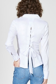 Bailey 44 Lace-Up Back Blouse - Product Mini Image