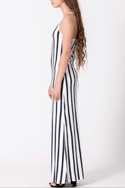 Favlux Lace-Up Back Dress - Front full body