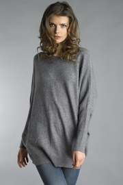 Tempo Paris Lace-Up Back Sweater - Product Mini Image