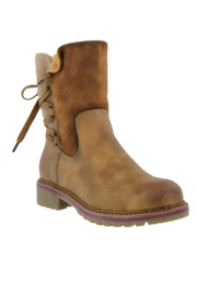 Spring Footwear Lace-Up Bootie - Product Mini Image