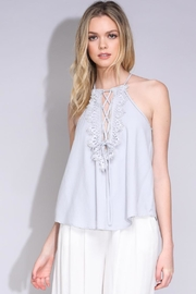 Do & Be Lace-Up Cami Top - Product Mini Image