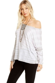 Chaser Lace Up Dolman - Front full body
