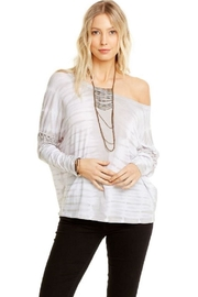Chaser Lace Up Dolman - Front cropped