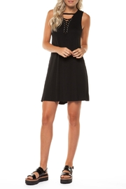 Dex Lace Up Dress - Product Mini Image