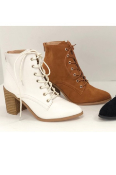 Ccocci Lace Up Heel Bootie - Alternate List Image