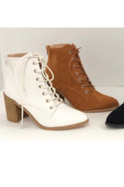 Ccocci Lace Up Heel Bootie - Product Mini Image