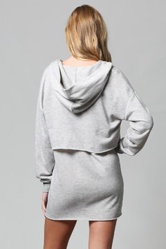 Fate Lace-Up Hoodie Dress - Alternate List Image