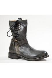 Bedstu Lace-Up-Leather Bootie - Front full body