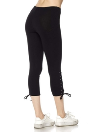 New Mix Lace Up Legging - Back cropped
