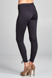 Racine Lace Up Leggings - Side cropped