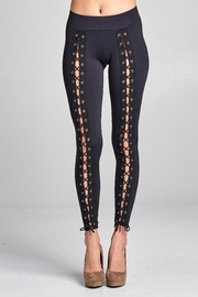 Racine Lace Up Leggings - Front cropped