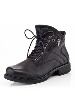 Shoptiques Product: Lace-Up Mac Booties