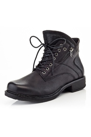 Eddie Marc & Co Lace-Up Mac Booties - Product Mini Image