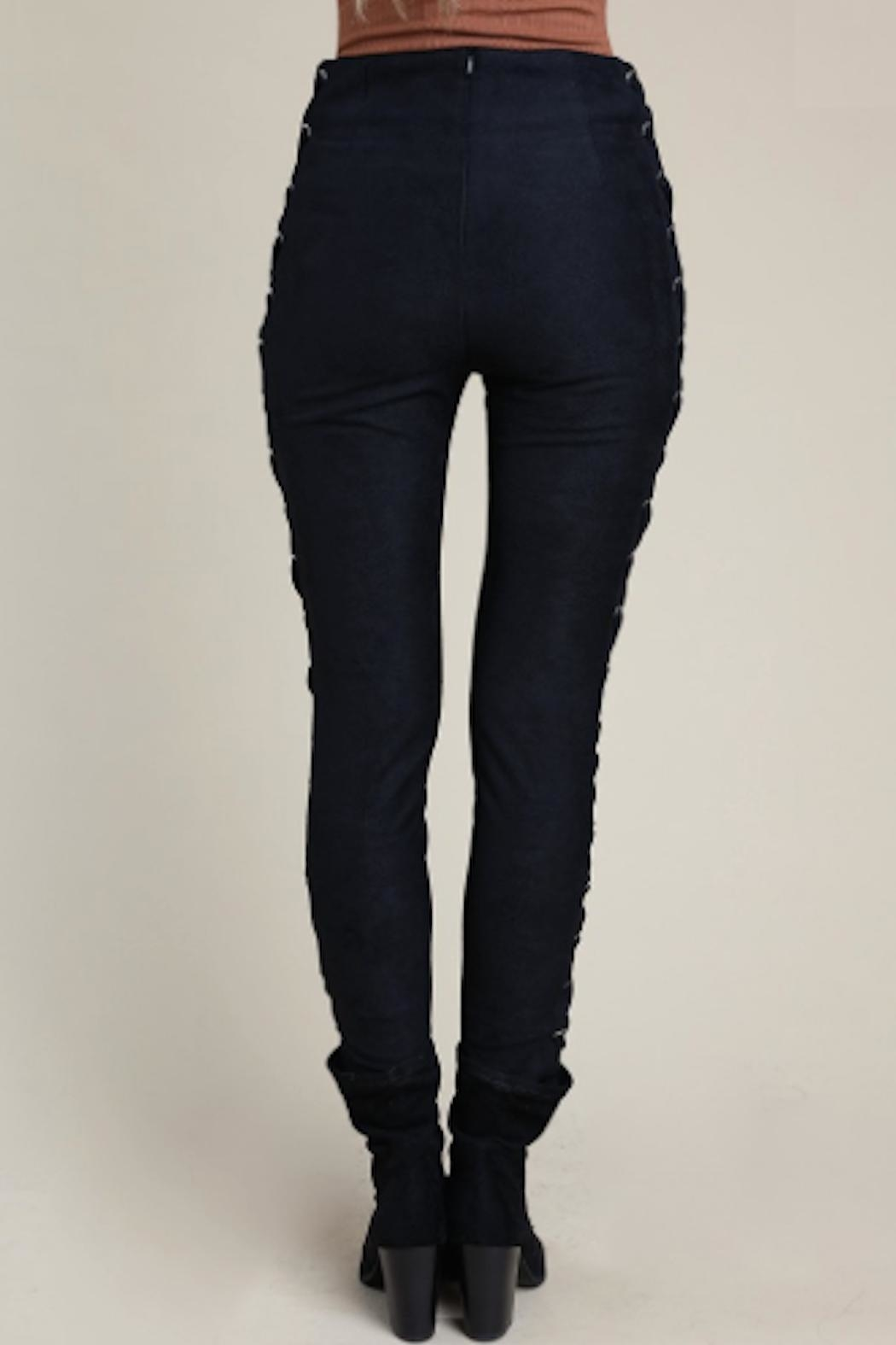 TIMELESS Lace Up Pant - Side Cropped Image