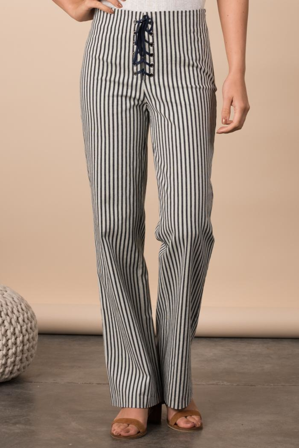 Margaret O'Leary Lace Up Pant - Main Image