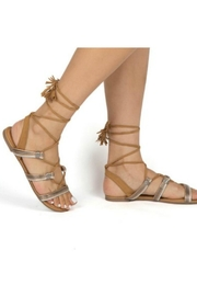 Let's See Style Lace Up Sandals - Product Mini Image