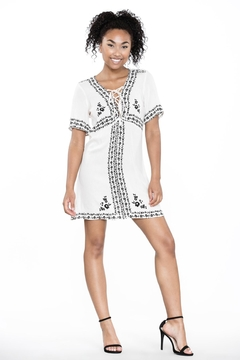 Ark & Co. Lace-Up Shirt Dress - Product List Image