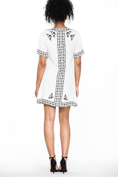 Ark & Co. Lace-Up Shirt Dress - Alternate List Image