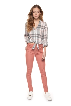 Shoptiques Product: Lace Up Skinnies