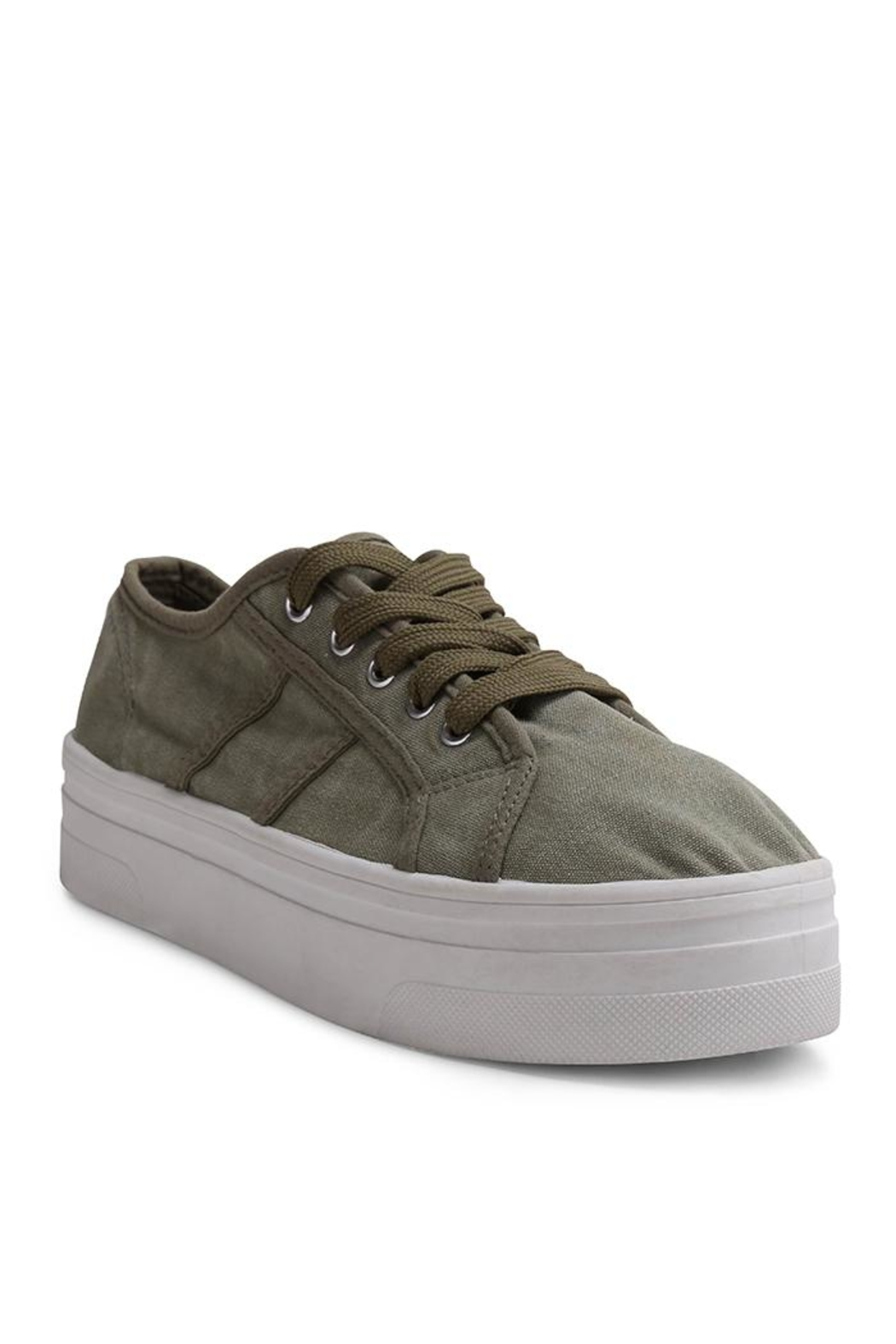 Wanted Lace Up Sneaker - Main Image