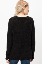 Love Tree Lace Up Sweater - Side cropped