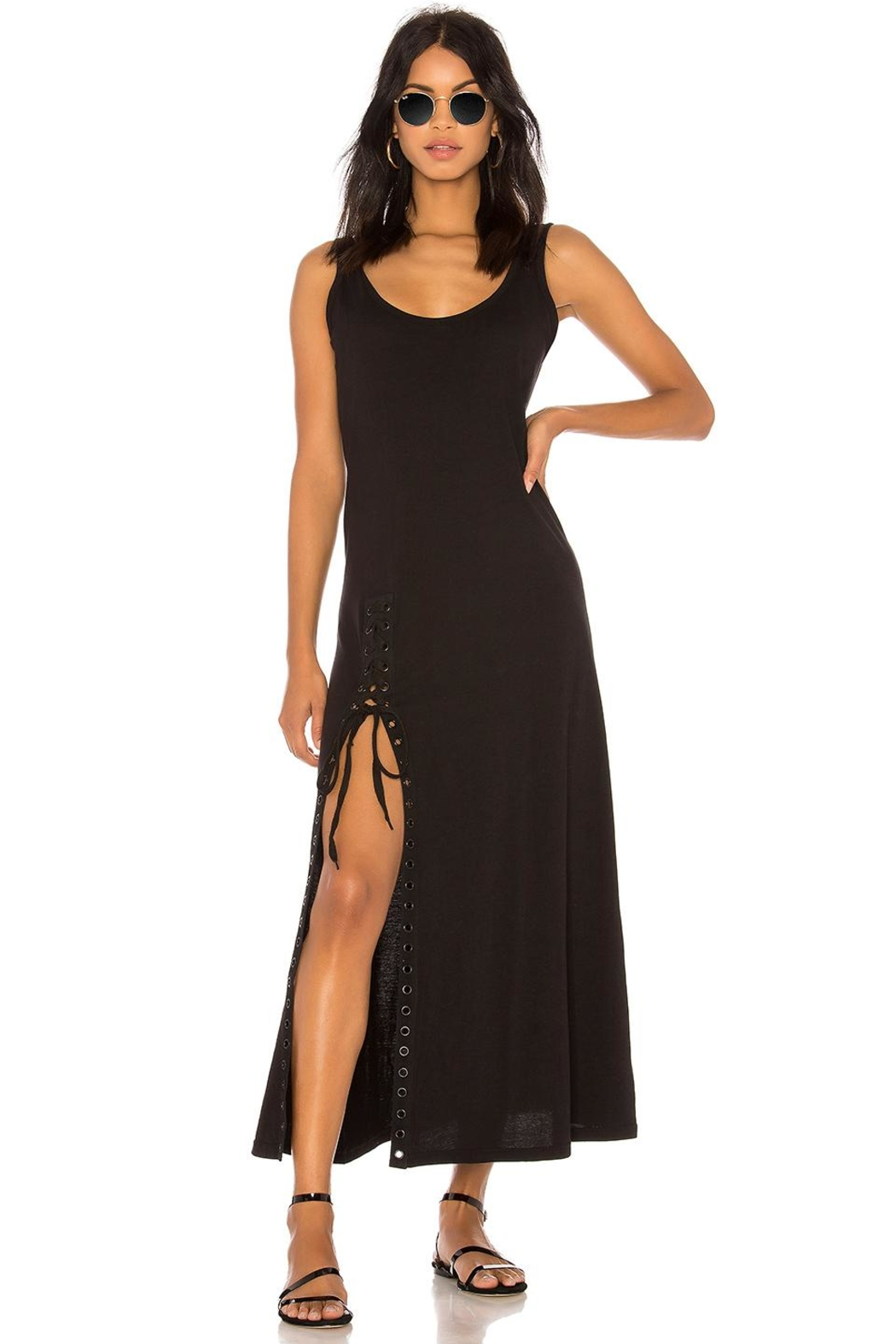 Kendall + Kylie Lace-Up Tank Dress - Main Image