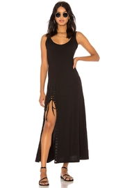 Kendall + Kylie Lace-Up Tank Dress - Front cropped