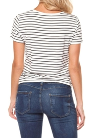 Dex Lace-Up Tee - Front full body