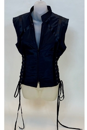 Dominique LACE UP VEST - Product Mini Image