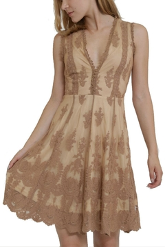 The Clothing Co Lace V-Neck Dress - Product List Image