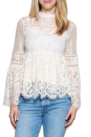 Taylor & Sage Lace Victorian Top - Product Mini Image