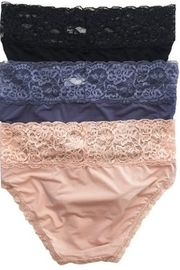 Anemone Lace Waistband Panties - Front full body