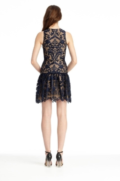 Monique Lhuillier Lace With Drop Waist - Alternate List Image