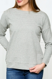 Down East Laced Back Sweatshirt - Product Mini Image
