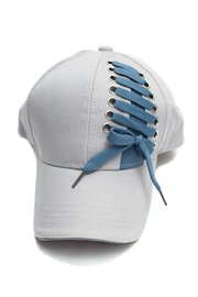 C.C. Laced Baseball Cap - Front cropped