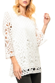 Adore Laced  Crochet Top - Front cropped