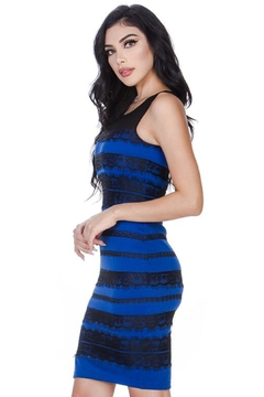 Leshop Laced Detailed Bodycon - Alternate List Image