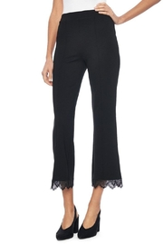 Lysse Laced Hem Capri - Product Mini Image