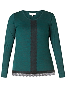 Colletta Laced Knit Sweater - Alternate List Image