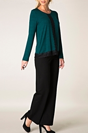 Colletta Laced Knit Sweater - Product Mini Image