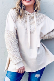 andthewhy Lacey Beach Hoodie - Product Mini Image