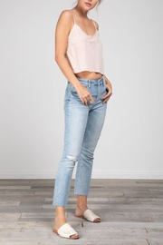Grade and Gather Lacey Cropped Tank - Other