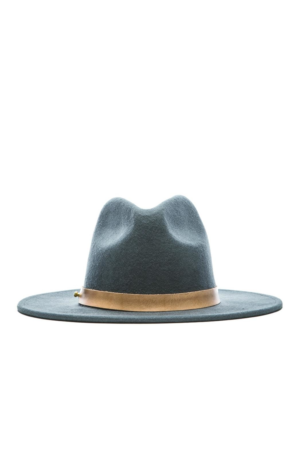 Lack Of Colour Charcoal Wool Hat - Front Full Image