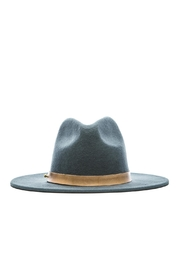 Lack Of Colour Charcoal Wool Hat - Front full body