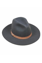 Lack Of Colour Charcoal Wool Hat - Front cropped