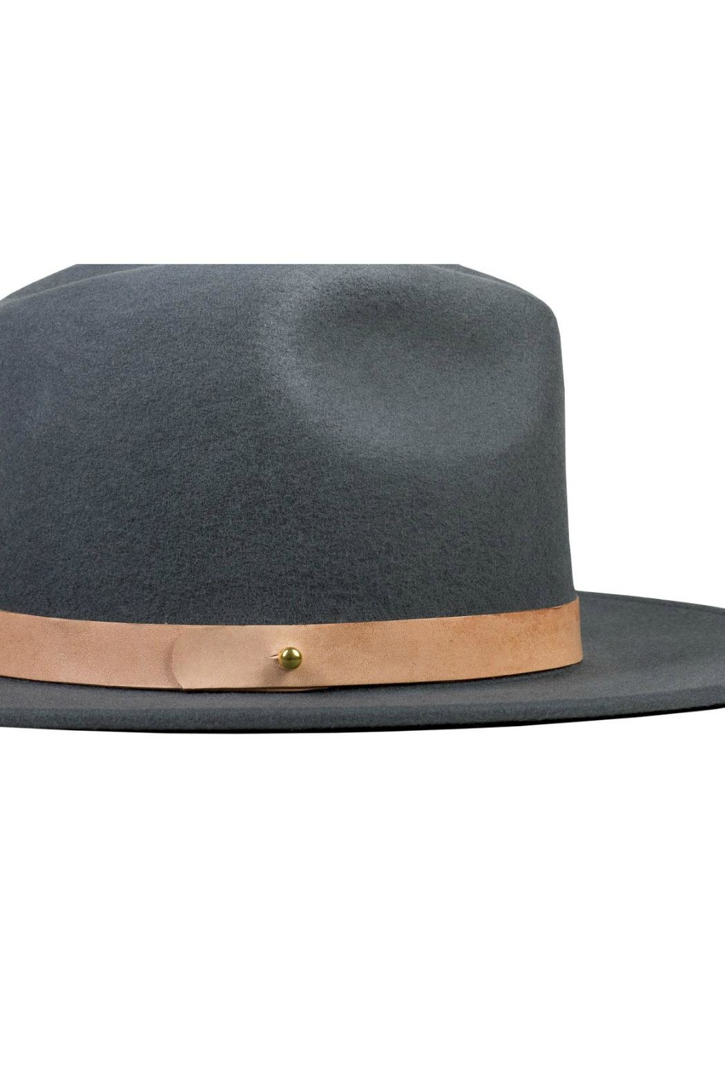 Lack Of Colour Charcoal Wool Hat - Side Cropped Image