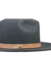 Lack Of Colour Charcoal Wool Hat - Side cropped