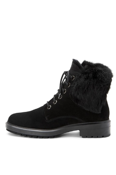 Shoptiques Product: Lacy Fur Boot